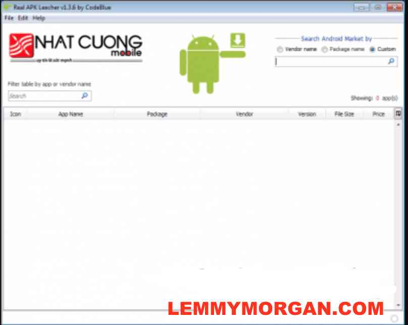 Extract direct apk links