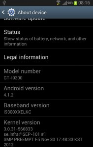 how to root and upgrade with Official Jellybean 4.1.2 XXELKC Firmware
