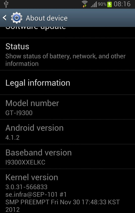 [Tut]How to Update & Root Galaxy S3 GT-I9300 on Android 4.1.2 XXELKC Jelly Bean Official Firmware