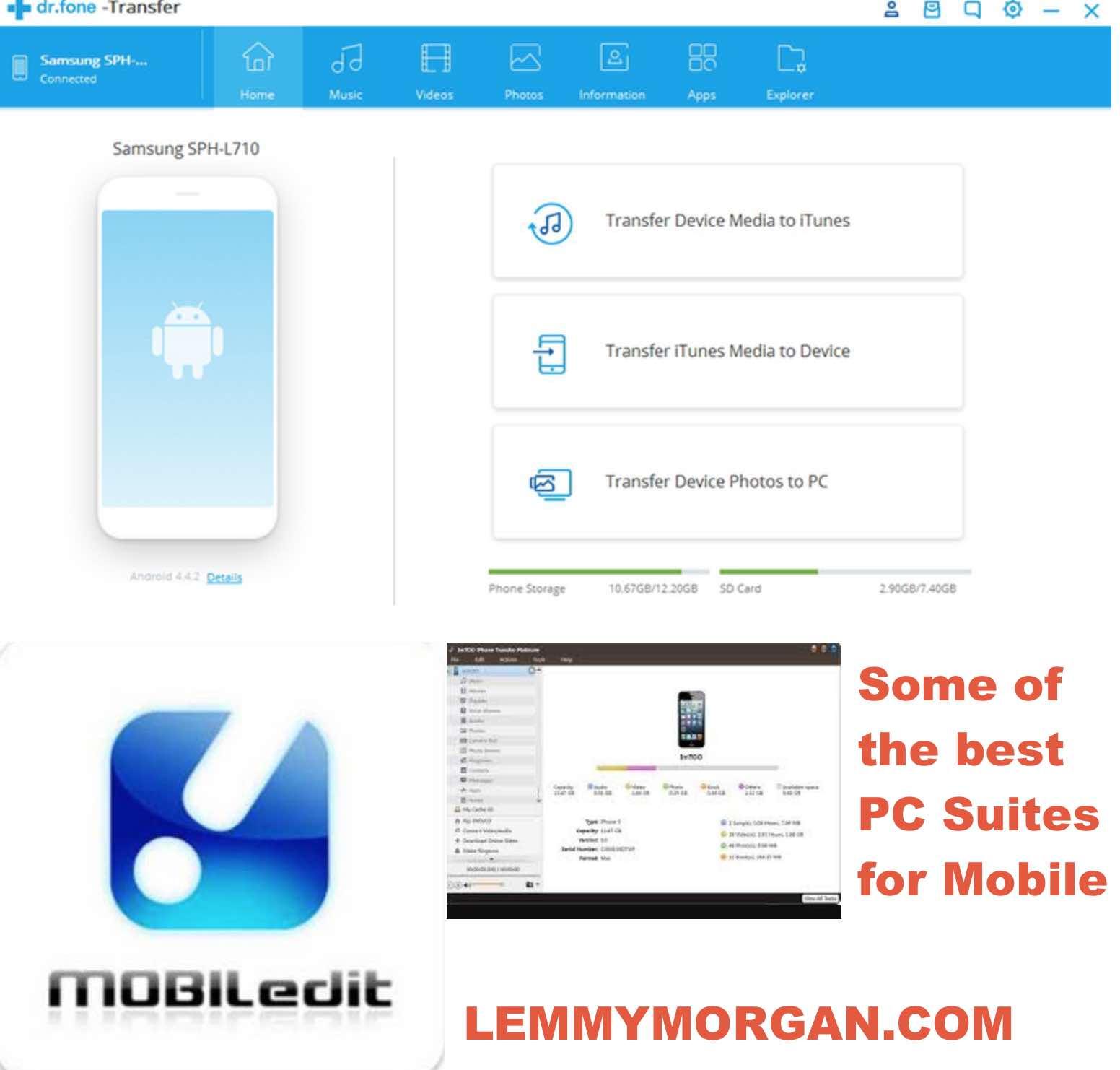 All mobile phones PC Suite