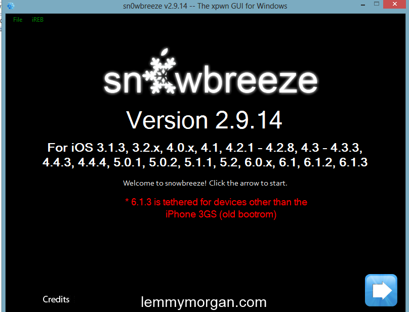 How to jailbreak iOS 6.1.3 With Sn0wbreeze Complete tutorial