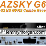 azsky g6 HD combo receiver