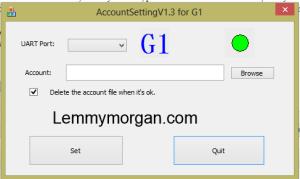 azsky account setting tool