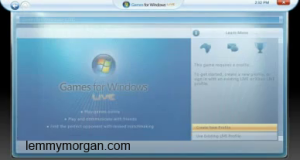 games for windows live account creation