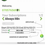 Glo Nigeria Data Gifting- As Low as #1000 FOR 6GB