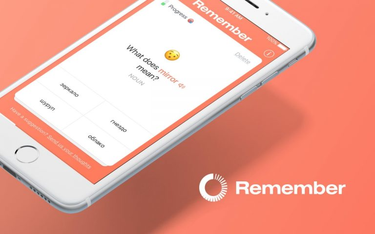 Remember-An App that teaches you Foreign Languages