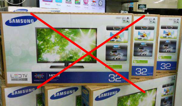 Ways to detect if an LCD/LED/OLED/Qled television is original or fake Before buying it