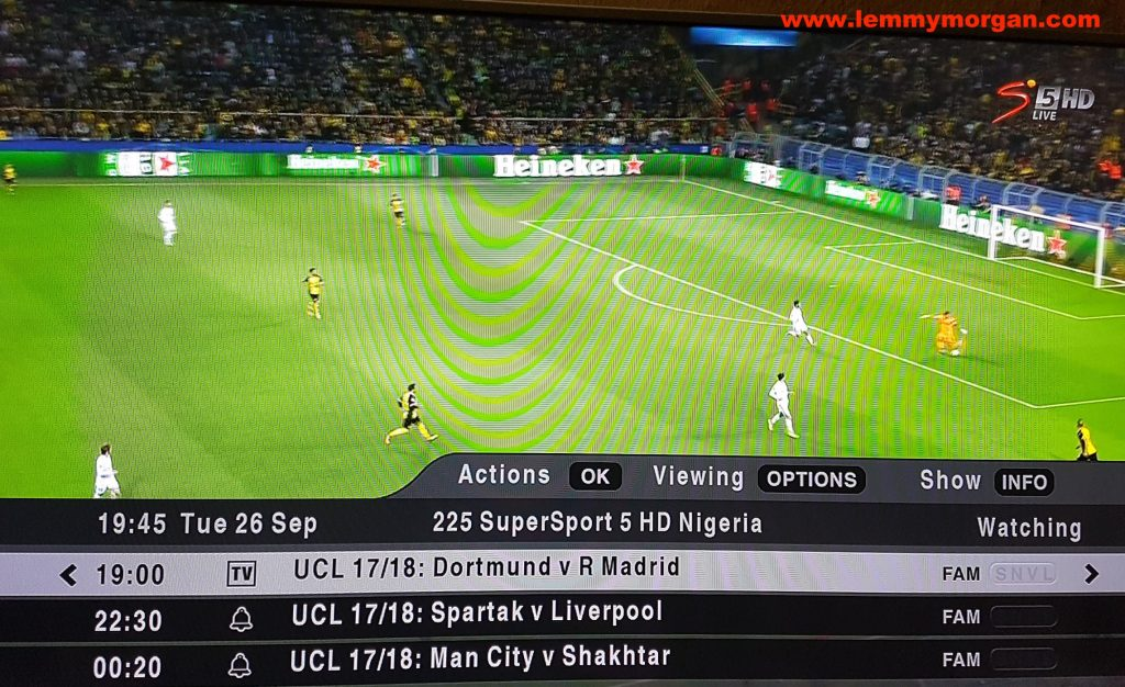 DStv compact UCL football limited offer is ongoing in Nigeria
