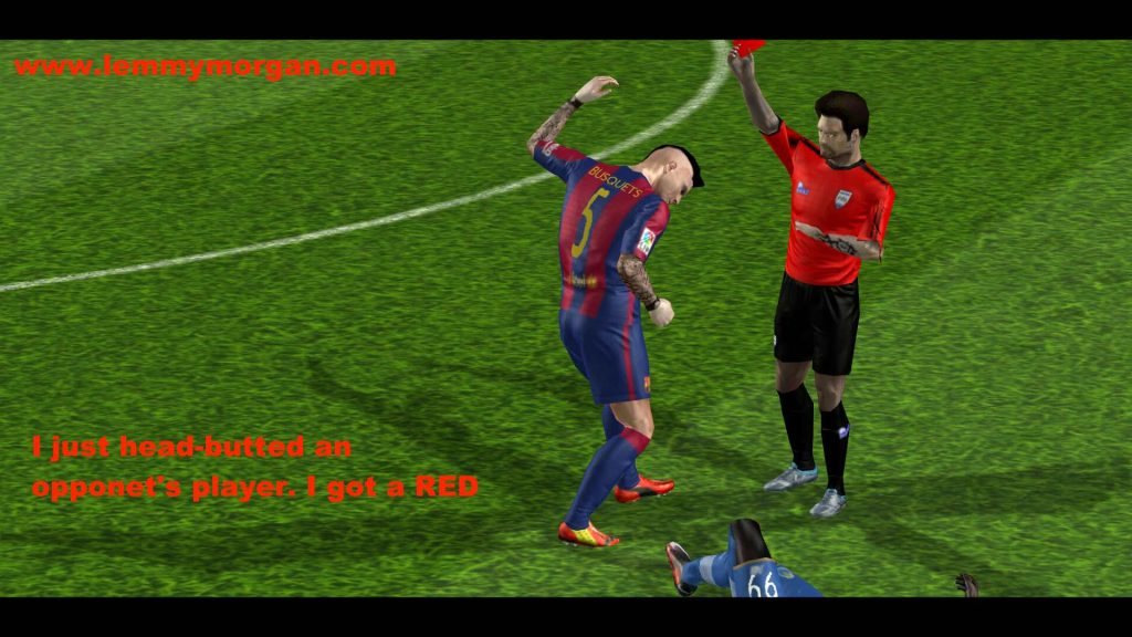 players emotion(AI) in pes