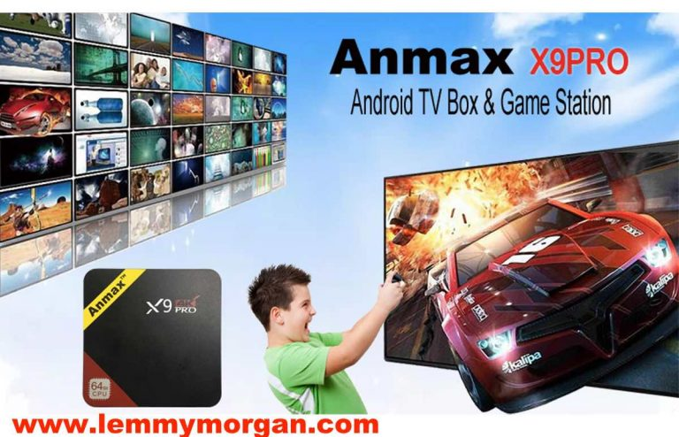 [Review] Anmax X9Pro Android TV box and Game Station