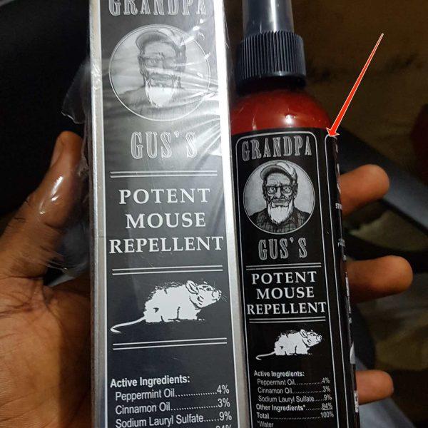 potent rodents repellents/control