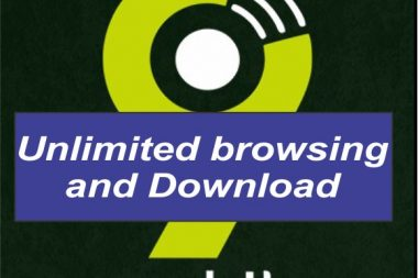 unlimited 9mobile data sim card