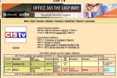 Cis TV & Signal 6