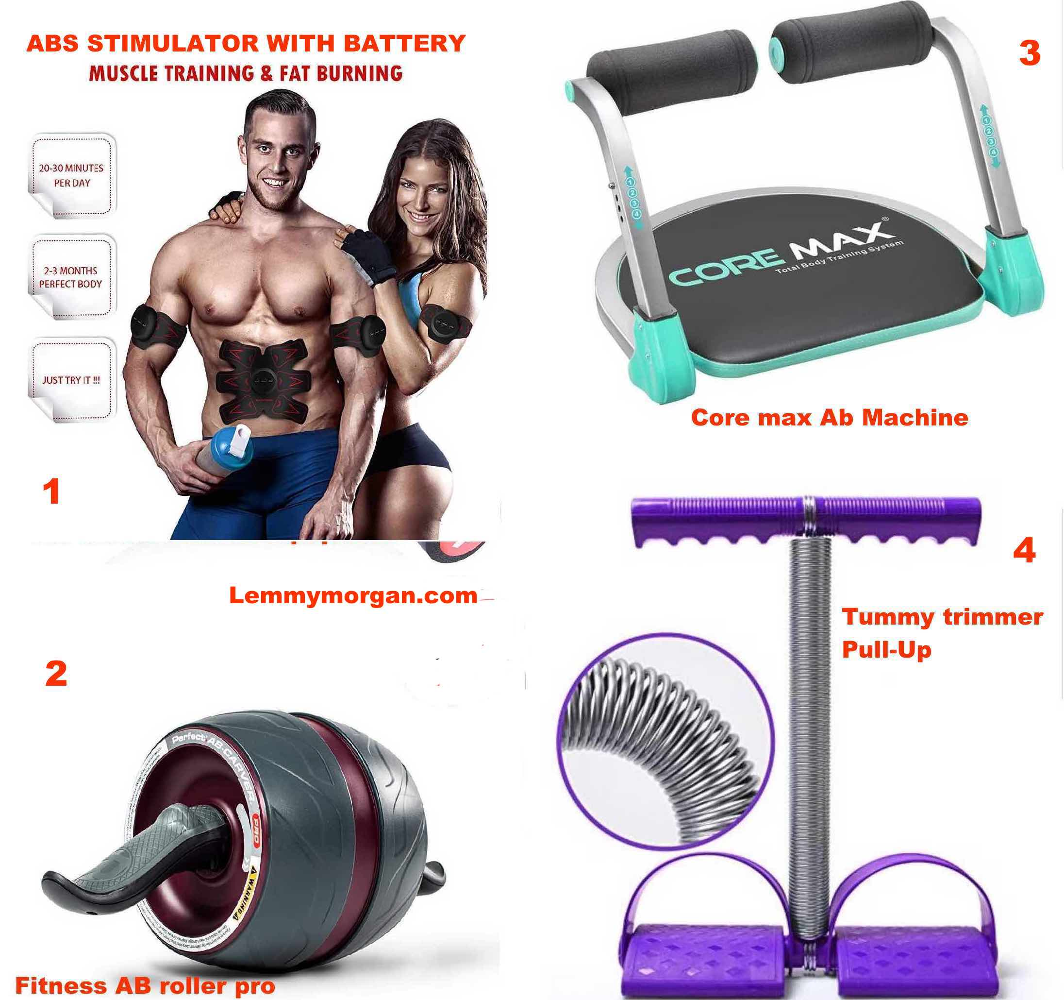 4 cheapest tummy/muscle tonners