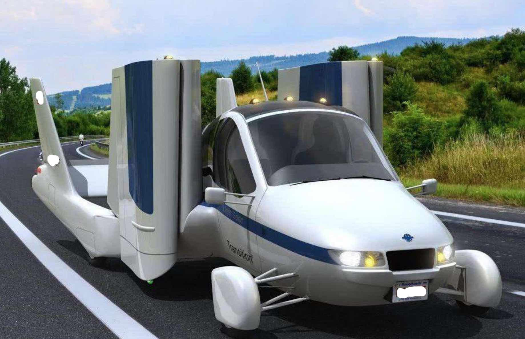 Geely's first flying car