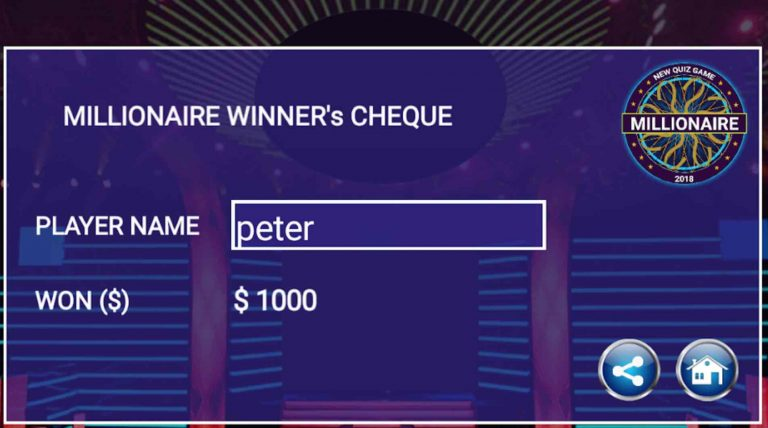 """Download """"Who Wants to Be a Millionaire?"""" for Android free"""