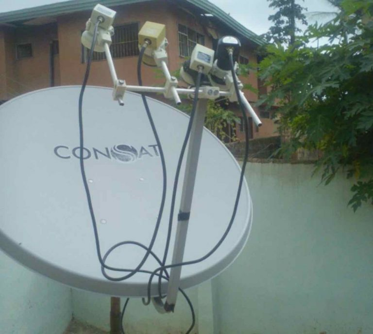 HOW YOU CAN TRACK AT LEAST FOUR SATELLITES ON 1 METER DISH