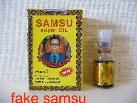 9 Ways to Identify Original Samsu Oil and avoid buying the fake/Clone