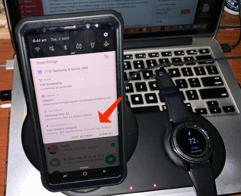 how to use samsung wireless charger duo