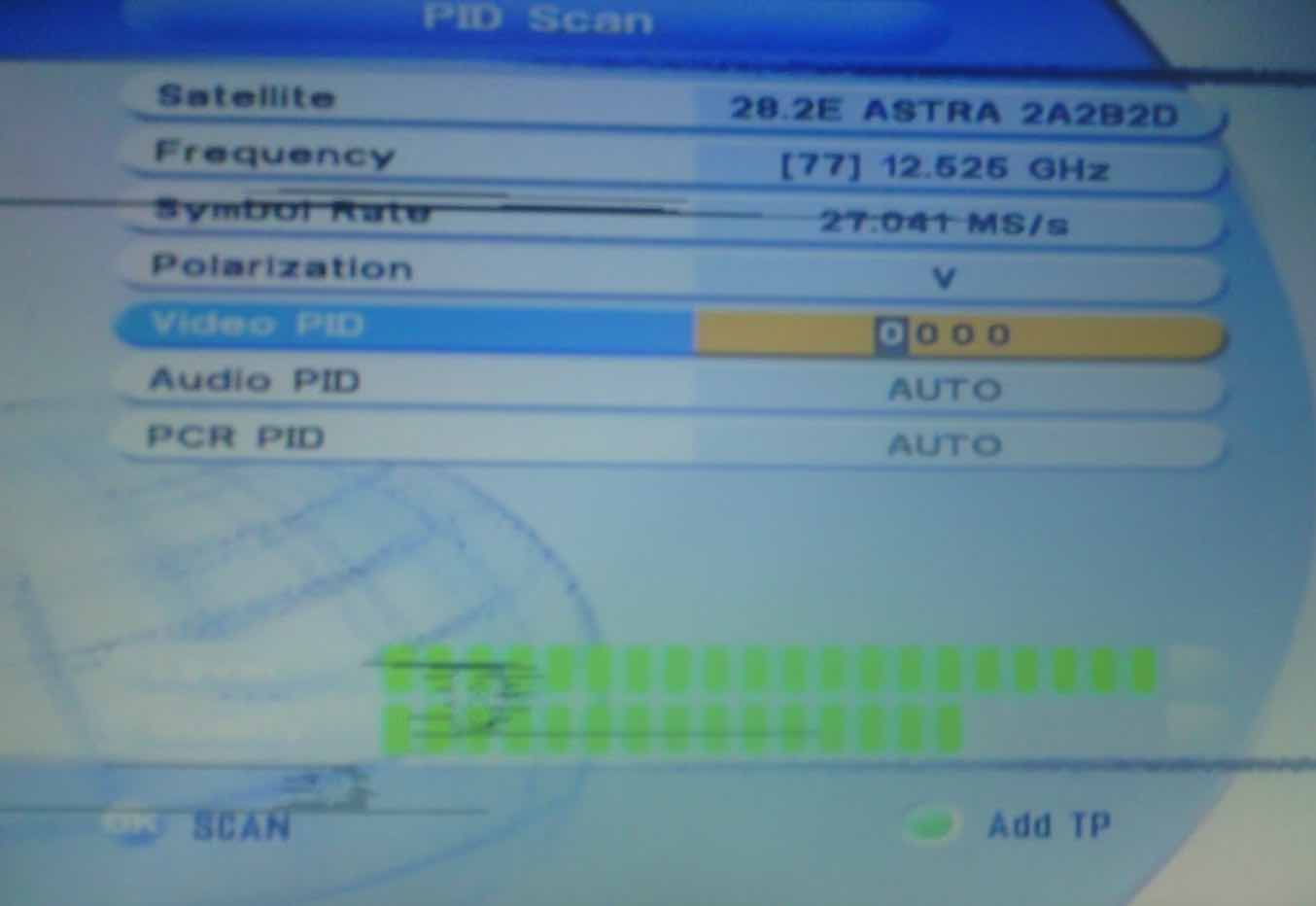 pid scan for decoders