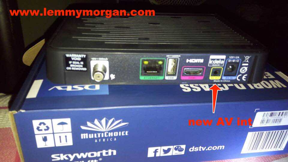 Latest DStv single view HD decoder