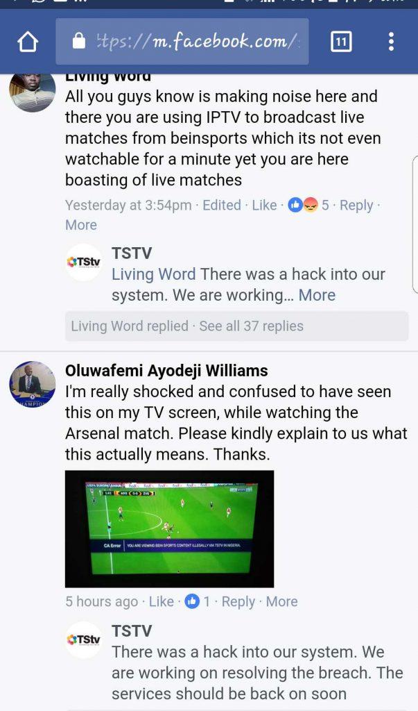 Tstv africa response