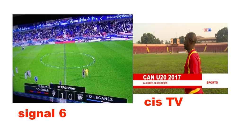 Signal 6 Vs Cis TV