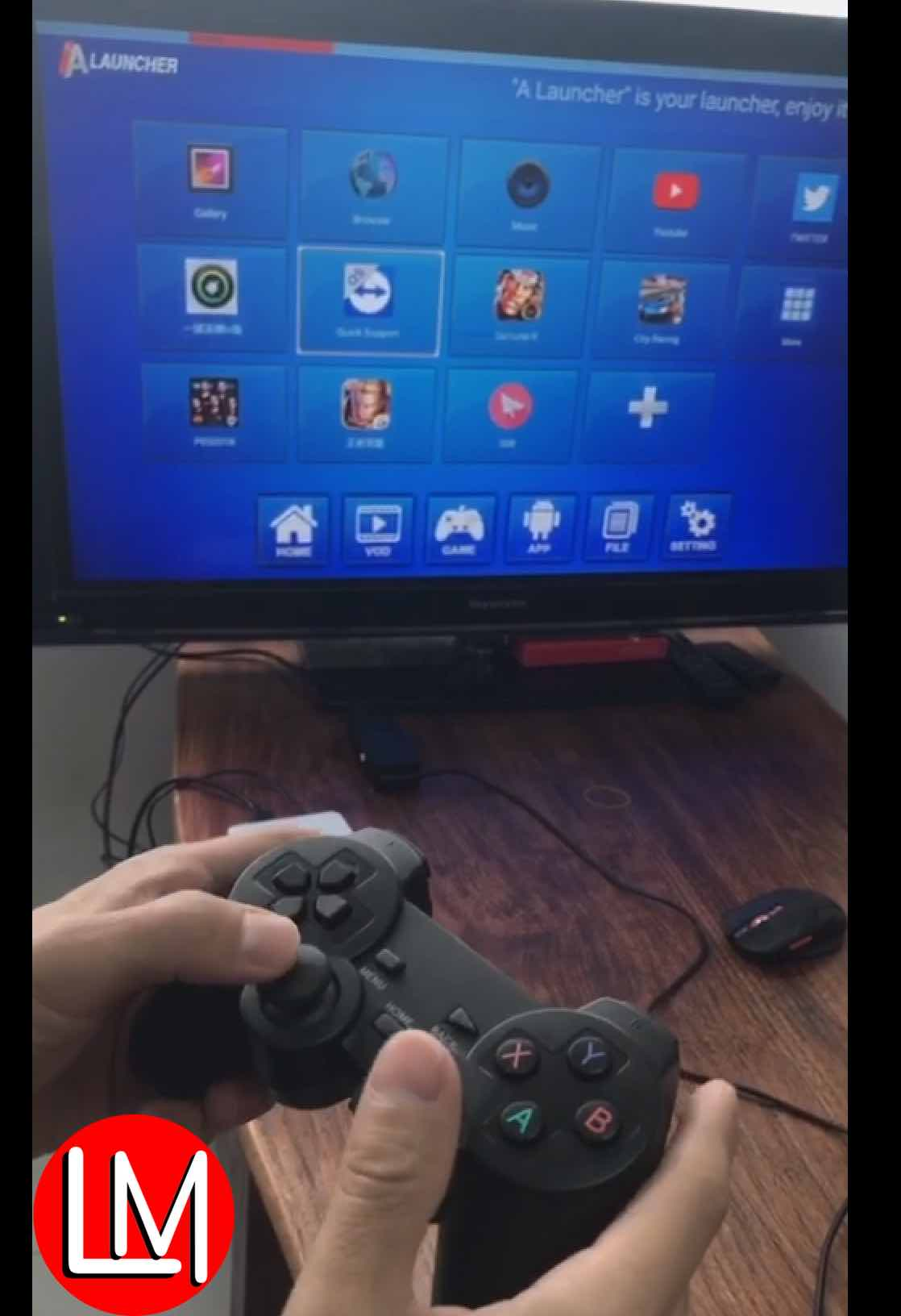 Anmax TV box gamepad configuration