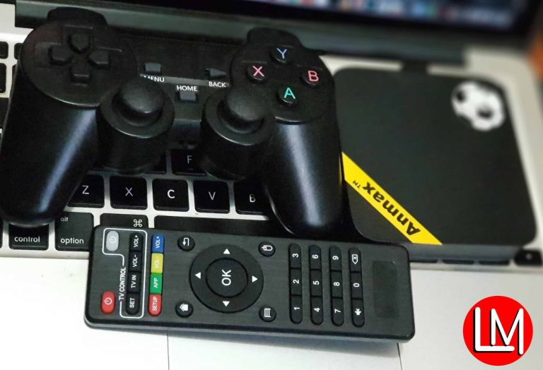 [Unboxing & Hands-on experience] Anmax x10 Android IPTV box and GameStation