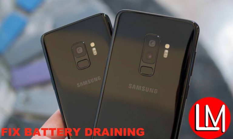[Fixed] Samsung galaxy S9/S9 plus exynos battery draining problem