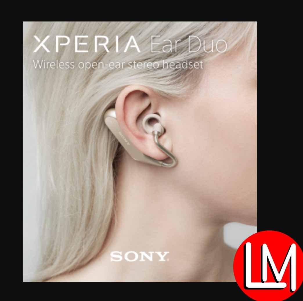 Sony dual listening earphones