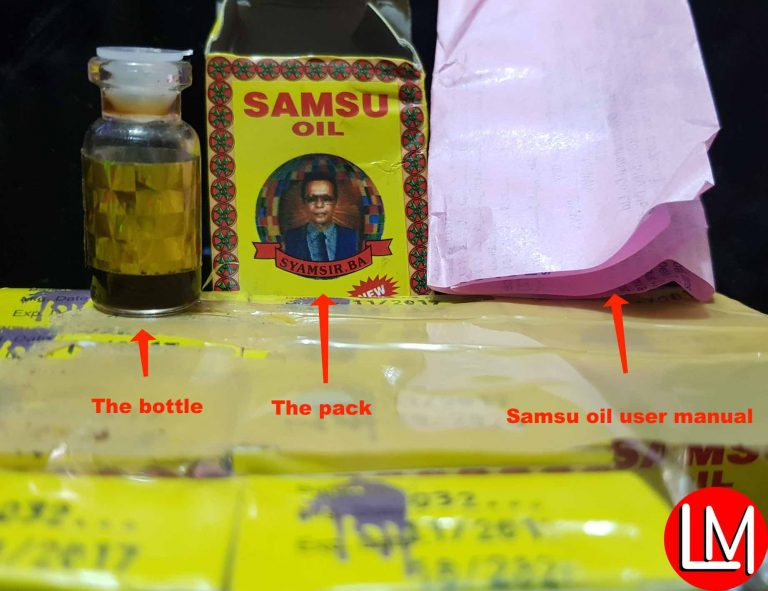 Buy original Samsu oil directly from me in Nigeria + See latest pictures of Samsu Oil original