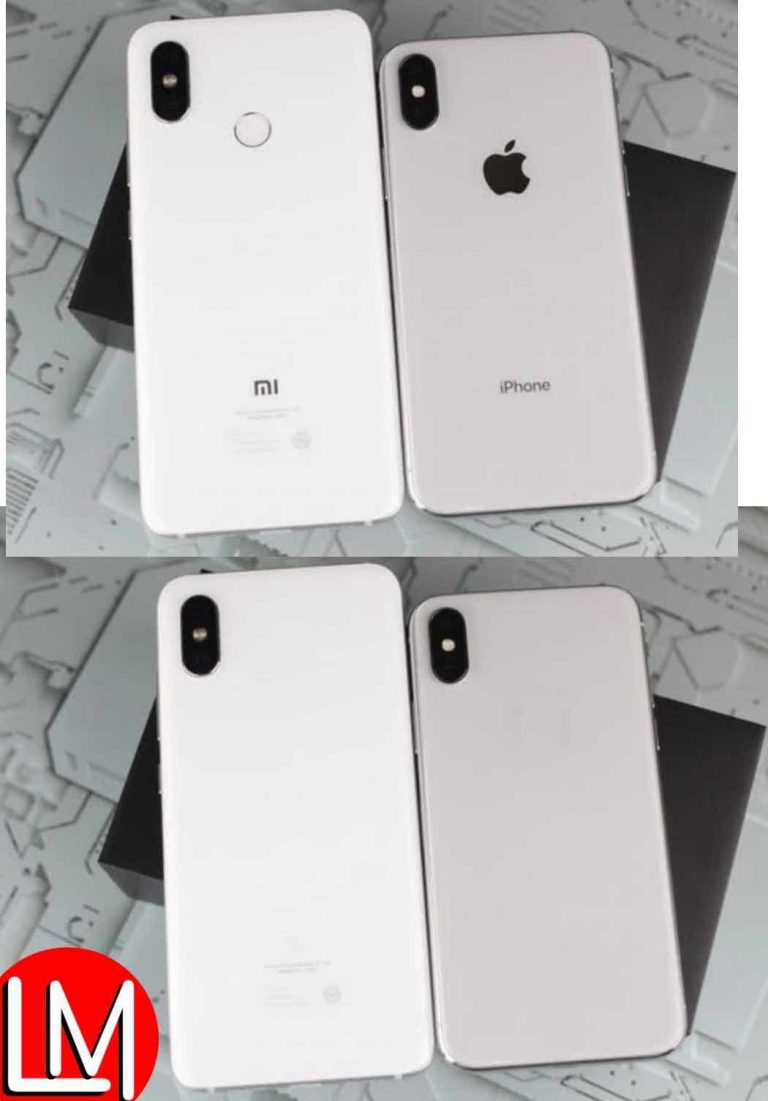 Evaluation of how Xiaomi Millet 8 cloned Apple iPhone X's design in and out