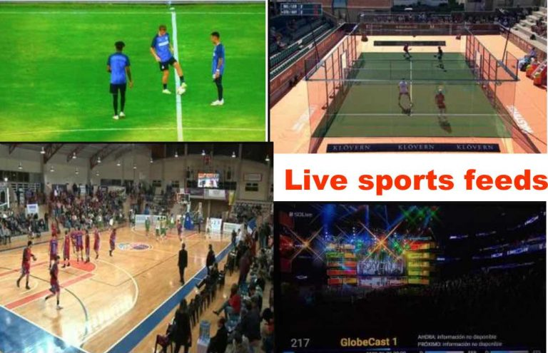 Live sports feed channels only: 22nd July to 1st of August 2018