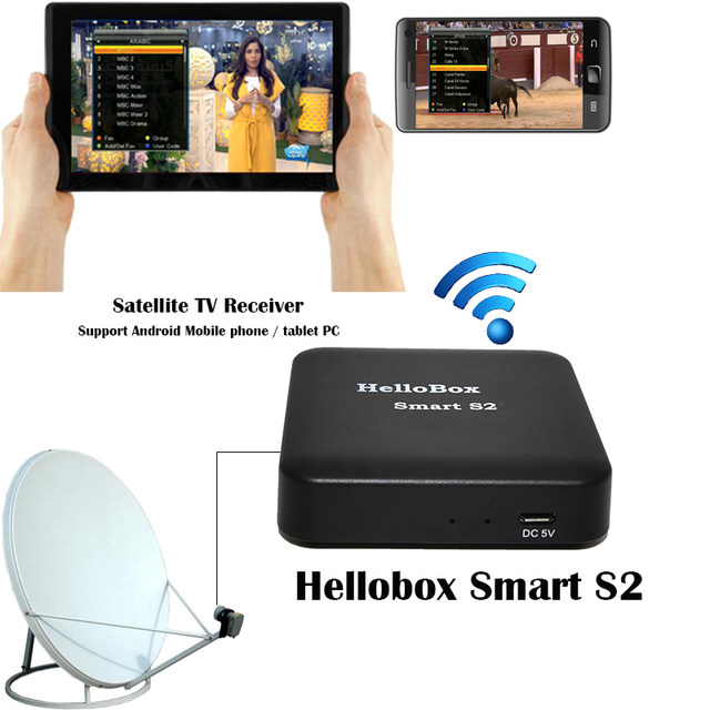 Introduction to Hellobox Smart S2: A device that can be used to Enjoy Satellite TV on Your Android via DVBPlayer