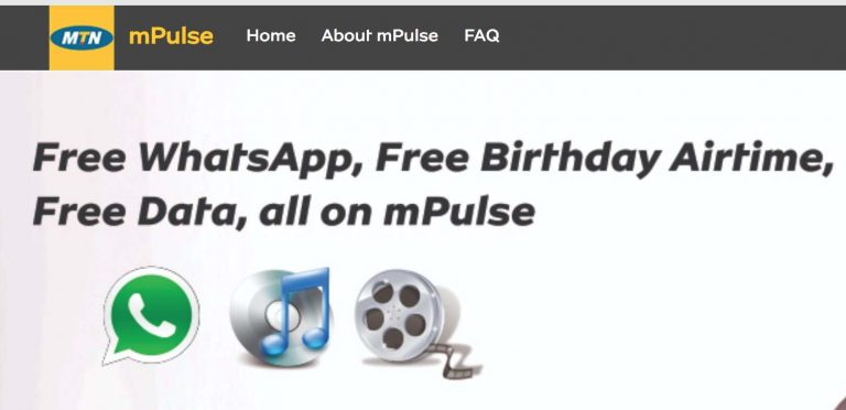 How to access/browse all websites with the MTN mPulse special data bundle