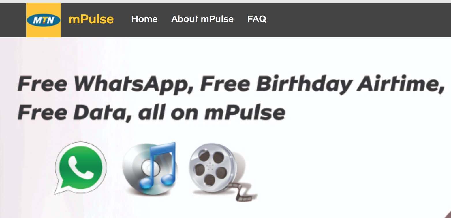 MTN mPulse special data bundle
