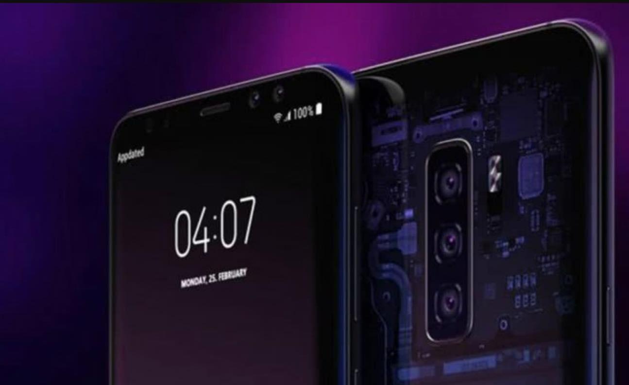Samsung Galaxy S10 three-Camera
