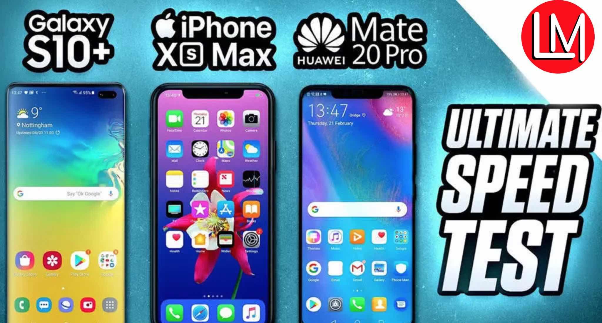 S10+ vs Xs Max vs Mate20Pro