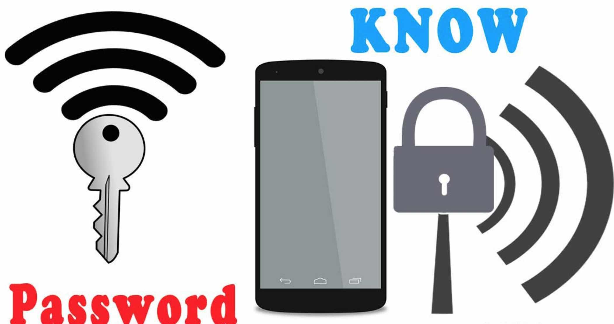 view Wi-Fi password with Android