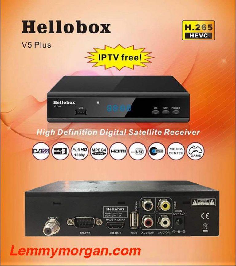 Hellobox V5 Plus H.265 HEVC DVB-S2 Satellite Receiver Full Review