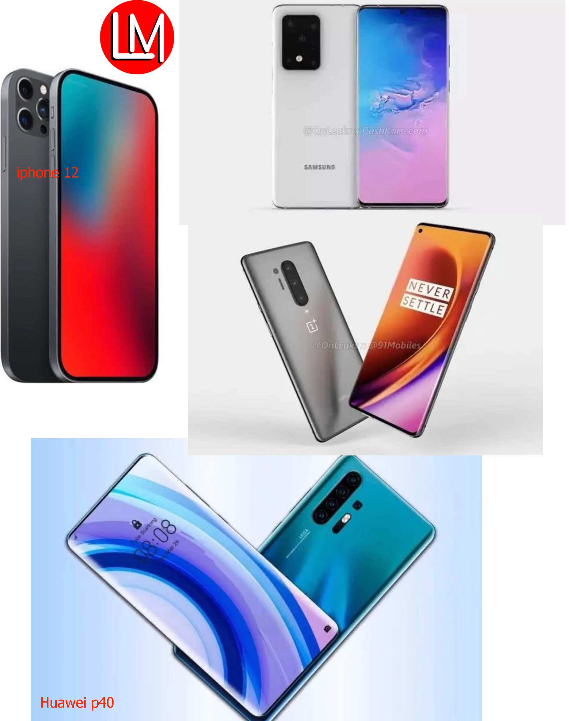 2020 flagships phones highlights